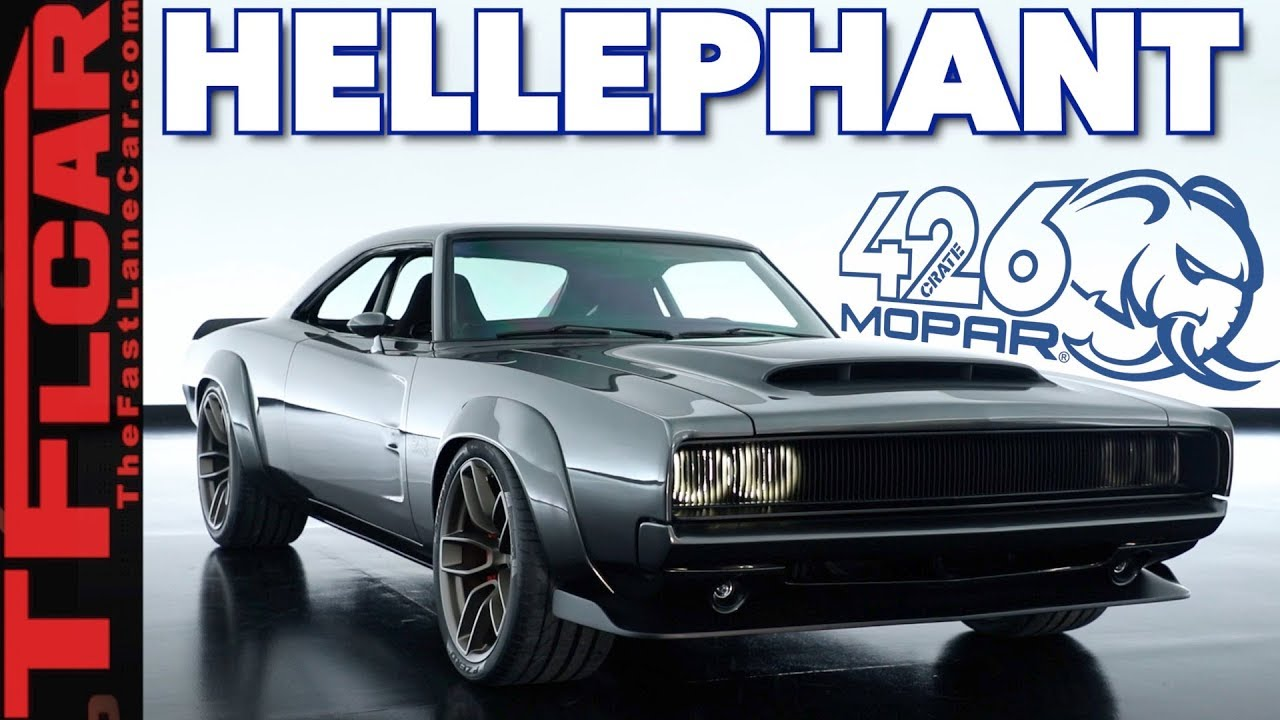 This Is Mopar S 1 000 Horsepower Crate Engine Kit The Hellephant