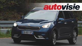 Video Review Kia Niro Hybrid (2016) by Autovisie TV download MP3, 3GP, MP4, WEBM, AVI, FLV Agustus 2018