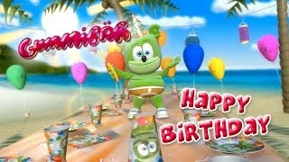 Happy Birthday Gummibär Music Video Gummy Bear Song
