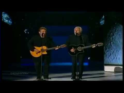 Eurovision 2000 Winner - Denmark Olsen Brothers -Fly On The Wings Of Love HQ