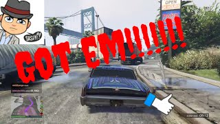 Grand Theft Auto V online game play