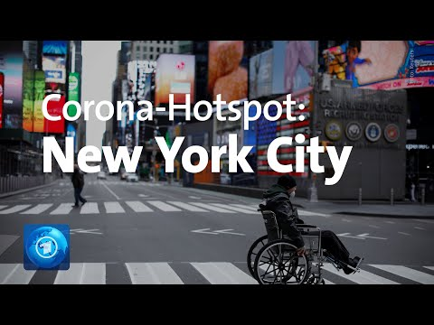Corona-Pandemie In Den USA: Hohe Infektionszahlen In New York City
