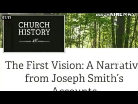 The Evolving Saga of Joseph Smith's First Vision and it's many faces on lds.org