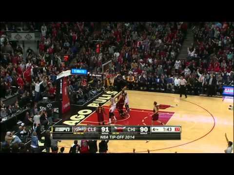 Cleveland Cavaliers vs Chicago Bulls | October 31, 2014 | NBA 2014-15 Season