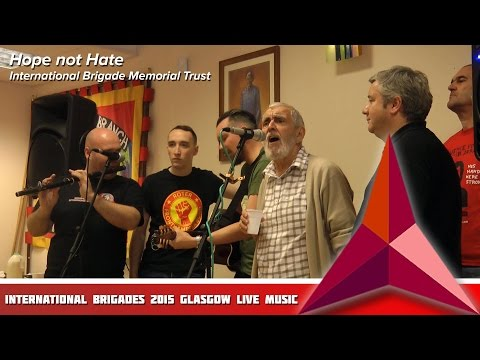 International Brigades Glasgow 2015 Live Music Gig