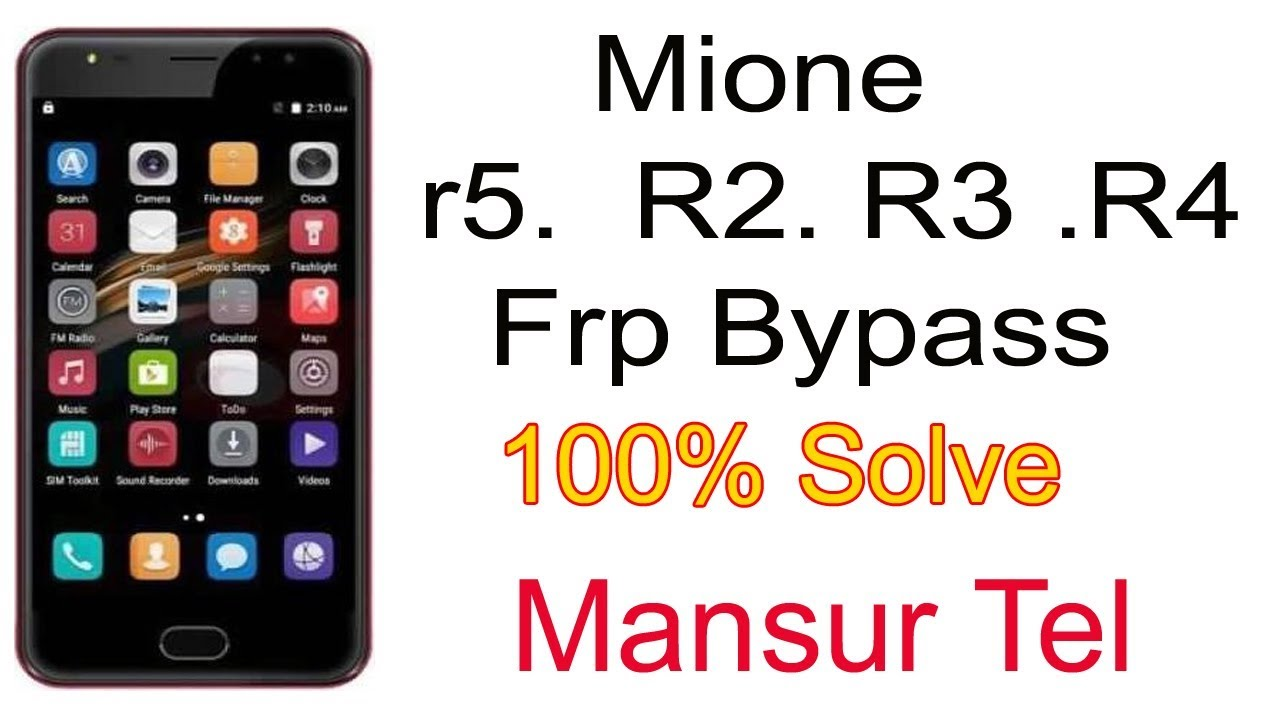 How To Mione r5  R2  R3  R4 frp bypass remove ,google account bypass