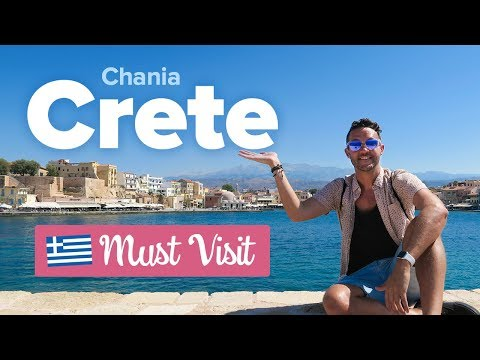 This is CHANIA, CRETE. 🇬🇷 Is it the Best city in Greece? What to do in Crete.