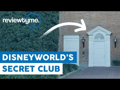 Walt Disney World's Secret Club - Club 33 | ReviewTyme