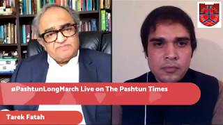 Tarek Fatah Live on the Pashtun Times