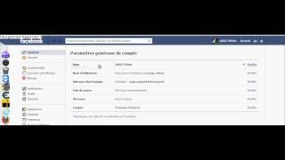 Comment Changer Sont Adresse Email Sur FaceBook ... :P ( Voiiix ) + Bien ExPliquer