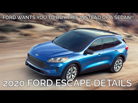 2020 Ford Escape Exterior Interior Video Information Youtube