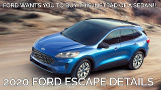 Everything you should know about the 2020 Ford Escape!