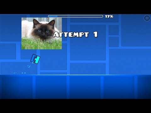 THE FUTURE OF GEOMETRY DASH ( ͡° ͜ʖ ͡°) : IMAGE PIC ON CUSTOM LEVEL