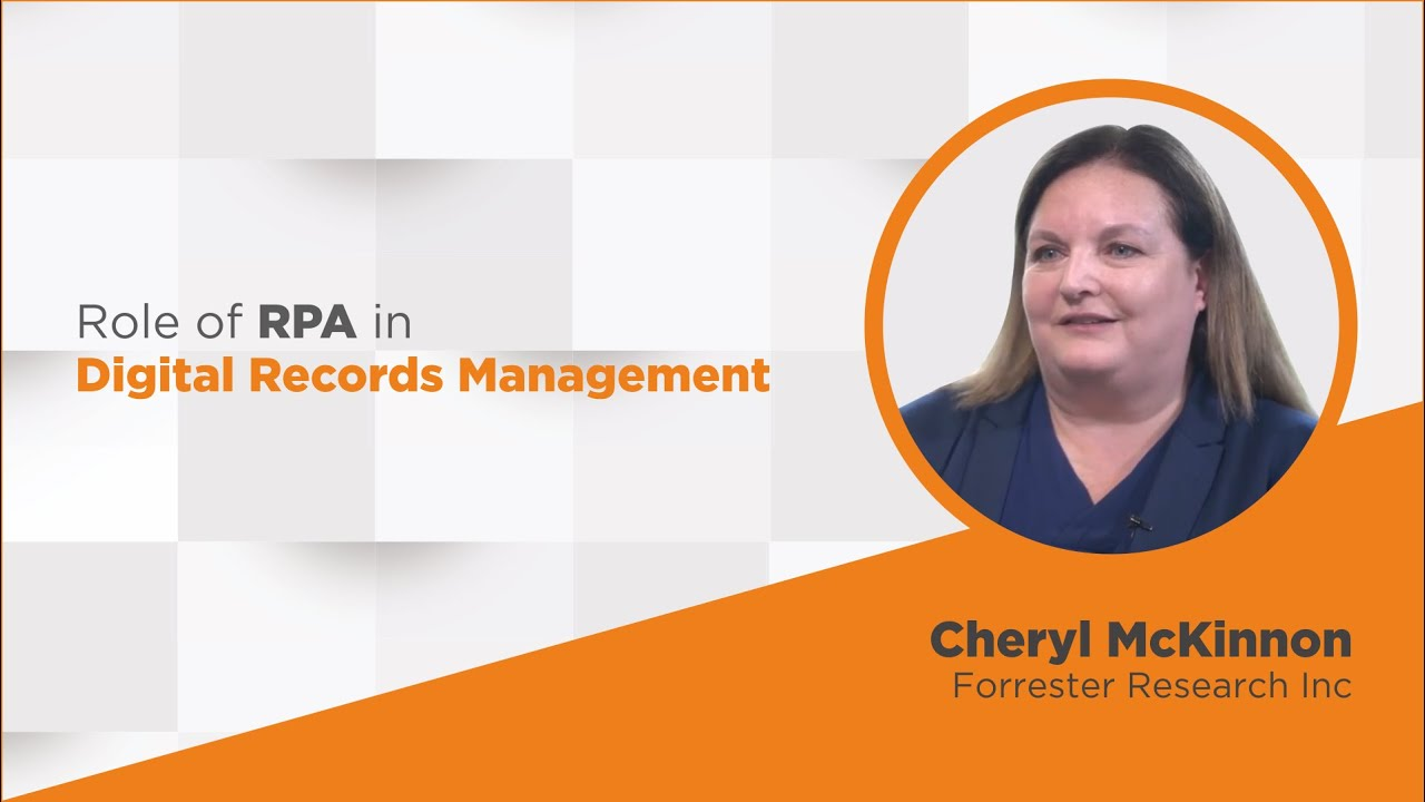 RPA driven Digital Records Management for Government Agencies