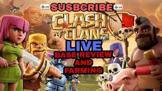 SEE MY NEW CLAN OF MY CHANNEL|||CLASH OF CLANS INDIA FARMING WITH FUN