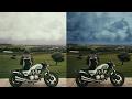 سماء دراماتيكة ببرنامج الفوتوشوب photoshop tutorial