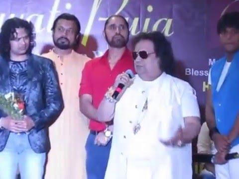 Bappi Lahri WITH Tinu Verma,Ganesh Jain, Raja Hassan AT CREATIVE CONNECTION LAUNCHONNECTION