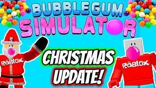 Roblox Bubble Gum Simulator CHRISTMAS UPDATE | Roblox Santa Claus Comes to Bubble Gum Simulator