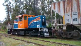 Locomotora Patiera ALMER-01 en las Juntas Tlaquepaque Jalisco