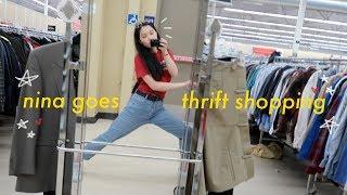 nina goes thrift shopping! 🌶