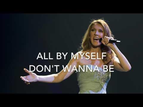 All by myself - Celine Dion version - Karaoke female version lower (-2)