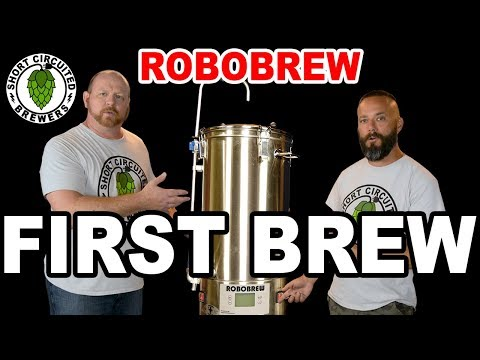 ROBOBREW Review 2017 - 1st Brew Day - USA Model With Pump - Tips And Suggestions - Robobrew 35L