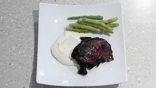 Roast Chicken Recipe With Cauliflower Puree - Mark's Cuisine #12
