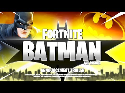 *NEW* FORTNITE BATMAN CINEMATIC TRAILER! ALL DETAILS & LEAKS!: BR