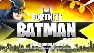 *NEW* FORTNITE BATMAN CINEMATIC TRAILER! ALL DETAILS & LEAKS!: BR