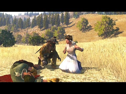Red Dead Redemption: Brutal Gameplay - Funny Moments - Physics & Animations - Compilation Vol.55