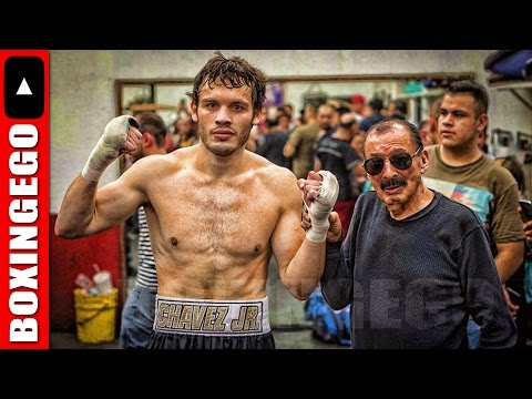 """NACHO: SUPRISED W/ JULIO CESAR CHAVEZ JR. NEW CANELO WORK ETHIC """"""""VERY SATISFIED W/ WORK HE'S DOING"""""""