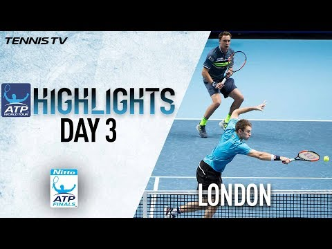 Highlights: Kontinen/Peers Edge Out Rojer/Tecau Nitto ATP Finals 2017
