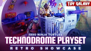 1990 Teenage Mutant Ninja Turtles Technodrome Playset - Retro Showcase #23
