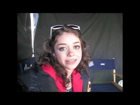 SARAH HYLAND on Working with RealLife Boyfriend MATT PROKOP!
