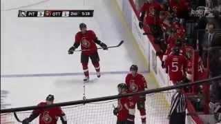 Pittsburgh Penguins @ Ottawa Senators Highlights 4/7/15