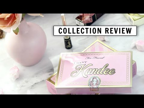 Toofaced x Kandee Johnson Collection Review