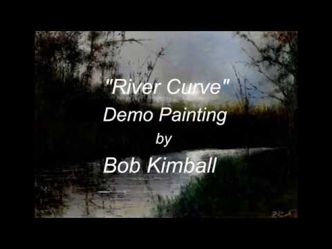 Tutorial How to Paint a River and Woods Speed Painting Time Lapse