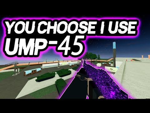 Phantom Forces - You Choose I Use (UMP-45) | Making A Rap Video?!?!