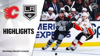 Flames @ Kings 10/19/19 Highlights