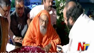 Sri Dayananda Saraswati Attends At 12th Day Bhakthi TV Koti Deepothsavam