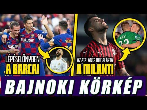 Lépéselőnyben a Barca a Reallal szemben