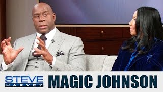 magics thoughts on ej coming out… steve harvey