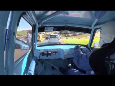 QMN Saloons Brands hatch 3rd November on board with Bill Richards Race 1