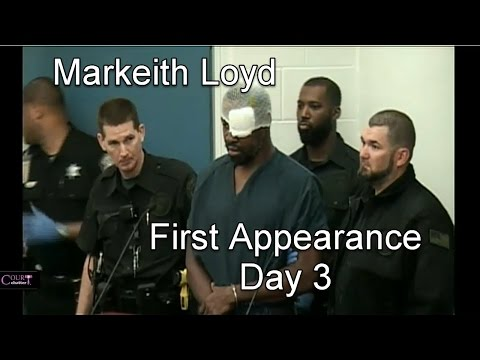 Suspected Fla. cop killer curses at judge, again