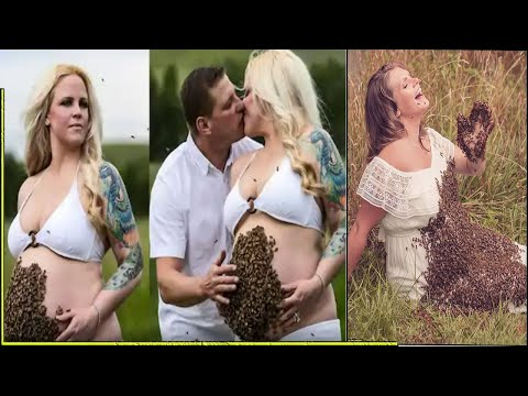 This Mom's Pregnant Belly Is Swarmed By 43,000 Bees. What Happened To Her Baby Is Unbelievable