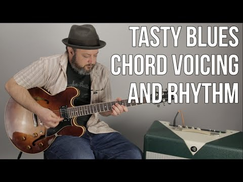 Chord Voicing and Rhythm Lesson For Blues, Rock, Jazz, Soul, and Funk