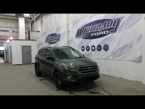 2018 Ford Escape SE W/ Sports Appearance Package Overview | Boundary Ford