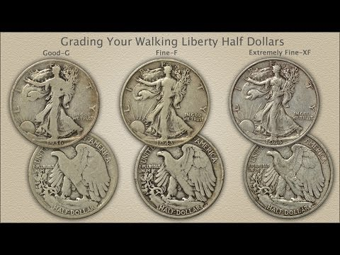 Grading Walking Liberty Half Dollars