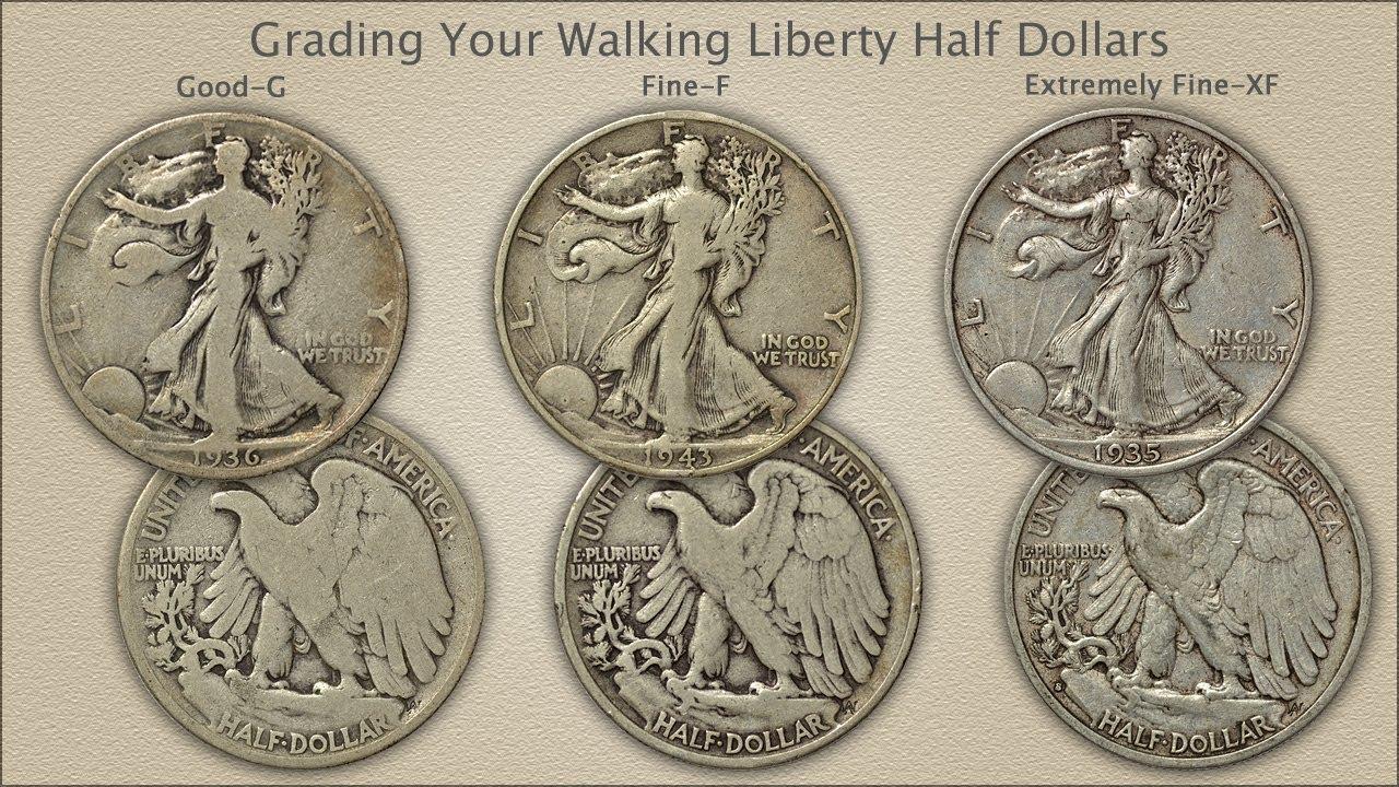 Grading Walking Liberty Half Dollars Youtube