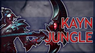 Is Kayn Any Good? Kayn Jungle, Full Game Commentary!